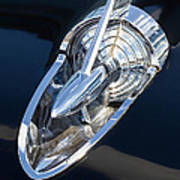 57 Chevy Hood Ornament Poster