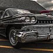 58 Oldsmobile Super 88 Poster