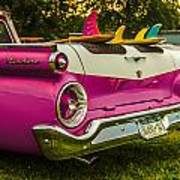 59 Ranchero With Surfboards Poster