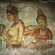 5th Century Cave Frescoes Poster
