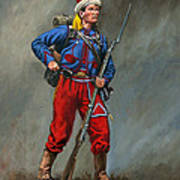 5th New York Veteran Volunteers - Duryee's Zouaves 1864 Poster