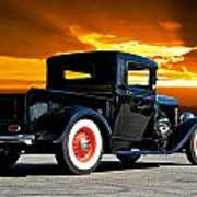 1932 Ford Pick Up Poster