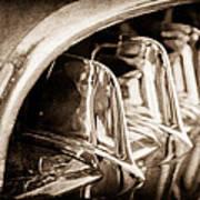 1957 Chevrolet Corvette Grille Poster