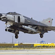 A Turkish Air Force F-4e-2020 Poster