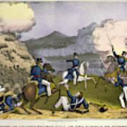 Battle Of Monterrey, 1846 Poster