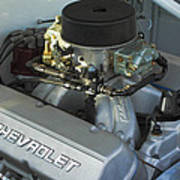 Chevrolet Engine Poster