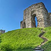Christchurch Castle Poster