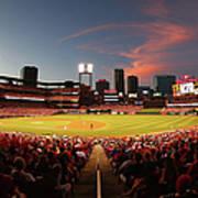 Cincinnati Reds V St Louis Cardinals Poster