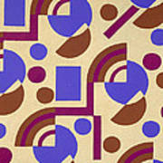Design From Nouvelles Compositions Decoratives Poster
