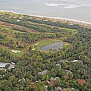 East Coast Aerial Near Jekyll Island Poster