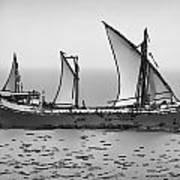 Fishing Vessel In The Arabian Sea Poster