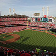 St. Louis Cardinals Vs. Cincinnati Reds Poster