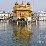 The Golden Temple At Amritsar India Poster