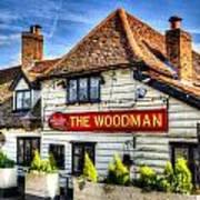 The Woodman Pub Poster