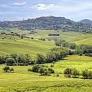 Tuscany - Montepulciano Poster
