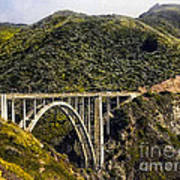 604 Det  Big Sur Bridge Poster