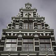 62 Damrak Amsterdam Squared Poster