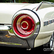 62 Thunderbird Tail Light Poster