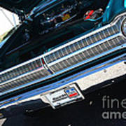 65 Plymouth Satellite Grill-8481 Poster