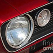 67 Camaro Ss Headlight-8724 Poster