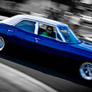 67 Chev Impala Poster by Phil 'motography' Clark