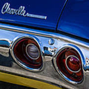 67 Chev Taillight Poster