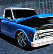 '68 Chevy Stepside Poster