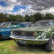 68' Mustang Poster
