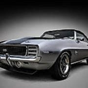 '69 Camaro Ss Poster