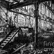 Abandoned Sugar Mill Poster