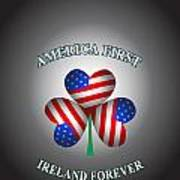 America First Ireland Forever Poster
