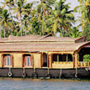 Asia, India, Kerala (backwaters Poster