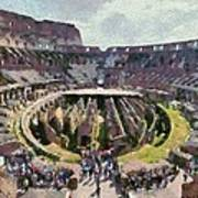 Colosseum In Rome Poster