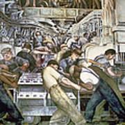 Diego Rivera - Detroit Poster
