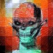 Halloween Mask Poster