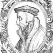 John Calvin (1509-1564) Poster