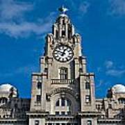 Liverpool's World Heritage Status Waterfront Buildings Poster