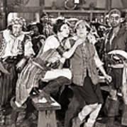 Silent Film Still: Pirates Poster