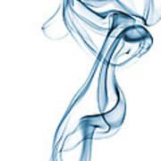 Smoke Curve Poster