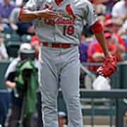 St Louis Cardinals V Colorado Rockies Poster