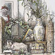 Thomas Nast: Christmas Poster by Granger
