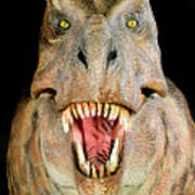 Tyrannosaurus Rex Model Poster