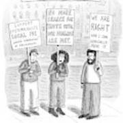 New Yorker December 3rd, 2007 Poster