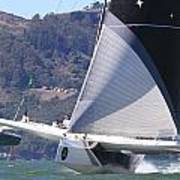 San Francisco Sailing Poster by Steven Lapkin