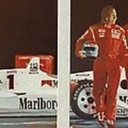 Automobile Racing Poster
