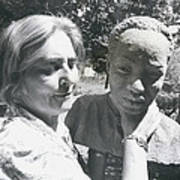 British-born Sculptress Completes Bust Of President Nyerere Poster