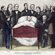 Death Of Lincoln, 1865 Poster