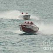 Port Huron Sarnia International Offshore Powerboat Race Poster