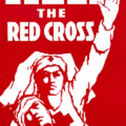 Red Cross Poster, 1917 Poster