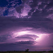 Wicked Good Nebraska Supercell Poster